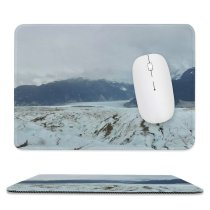 yanfind The Mouse Pad Aire Hielo Glaciar Domain Pictures Outdoors Snow Glacier Wild Ice Naturaleza Pattern Design Stitched Edges Suitable for home office game