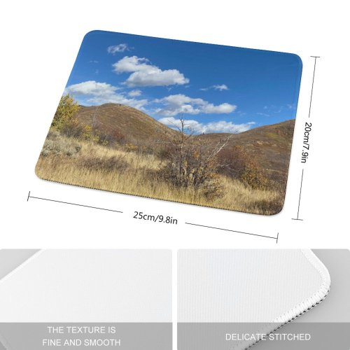 yanfind The Mouse Pad Savanna Countryside Utah Mound Montains PNG Grassland Outdoors Wasatch Cascade Springs Pattern Design Stitched Edges Suitable for home office game
