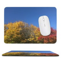 yanfind The Mouse Pad Abies Plant Trunk Creative Pictures Outdoors Tree Fir Grass Maple Images Pattern Design Stitched Edges Suitable for home office game