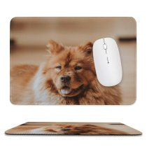 yanfind The Mouse Pad Dog Nala Pet Pictures Chow Furry PNG Images Pattern Design Stitched Edges Suitable for home office game