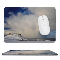 yanfind The Mouse Pad Domain Pictures Cloud Outdoors Snow Cumulus Glacier Cloudy Ice Public Meteorology Pattern Design Stitched Edges Suitable for home office game