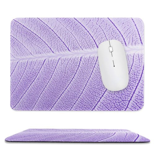 yanfind The Mouse Pad Waterdrop Leaf Summer Abstract Art Artistic Magenta Passion Season Fall Spring Winter Pattern Design Stitched Edges Suitable for home office game