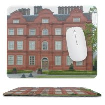 yanfind The Mouse Pad Building Houses Stately Home Mansion Manor Home Estate Property Architecture Landmark Pattern Design Stitched Edges Suitable for home office game
