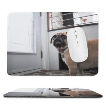 yanfind The Mouse Pad Dog Decor Pet Wallpapers Free Pictures Home Grey Images Funny Pattern Design Stitched Edges Suitable for home office game
