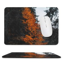 yanfind The Mouse Pad Abies Plant Pictures Trend Tree Ornament Fir Instagram Free Dark Love Pattern Design Stitched Edges Suitable for home office game