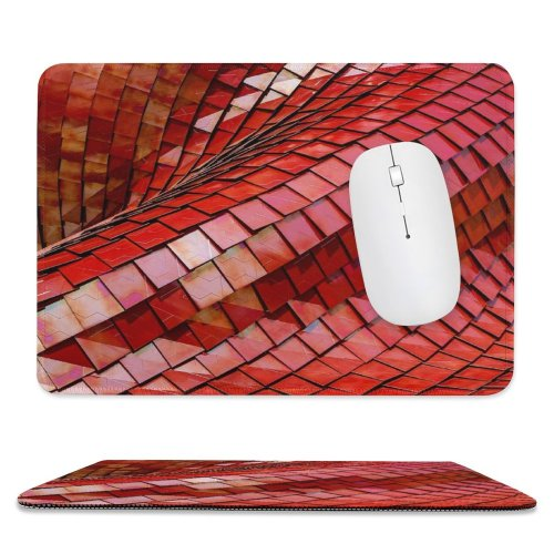 yanfind The Mouse Pad Scale Roof Pictures Abstract City Free Tile HQ Wave Italy Texture Pattern Design Stitched Edges Suitable for home office game