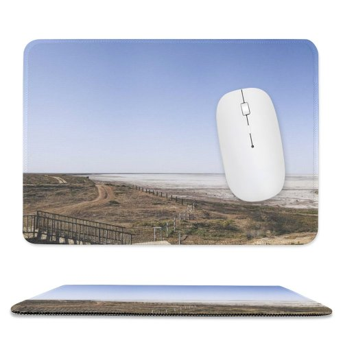 yanfind The Mouse Pad Scenery Domain Nobody Sunset Prairie Ground Public Burn Clean Outdoors Wallpapers Pattern Design Stitched Edges Suitable for home office game