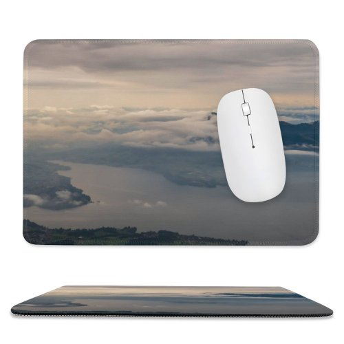 yanfind The Mouse Pad Scenery Birds Lake Sky Mountain Panorama Cumulus Free Pilatus Outdoors Stock Pattern Design Stitched Edges Suitable for home office game