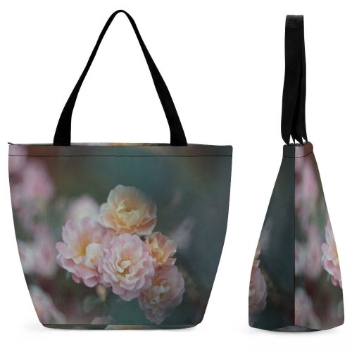 Yanfind Shopping Bag for Ladies Flower Geranium Plant Rose Film Город Москва Petal Peony Reusable Multipurpose Heavy Duty Grocery Bag for Outdoors.