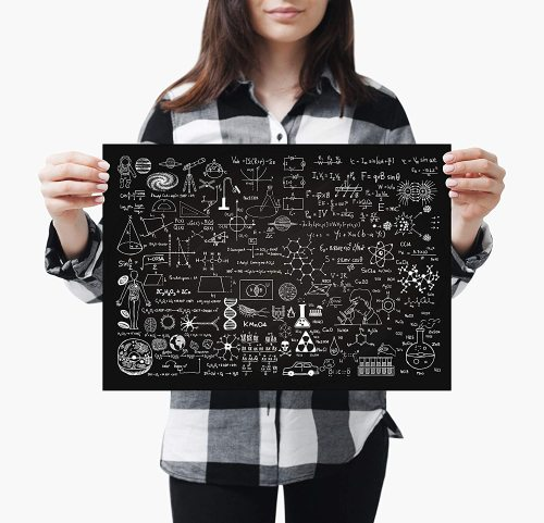 yanfind A3| Chemistry Poster Size A3 Science Physics Art Poster
