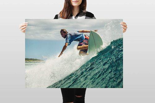 yanfind A1 | Surfing Poster Art Print 60 x 90cm 180gsm Surf Surfer