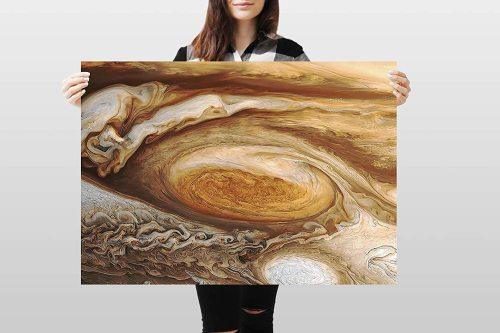 yanfind A1 | Jupiter Poster Art Print 60 x 90cm 180gsm Space Planet NASA Fun