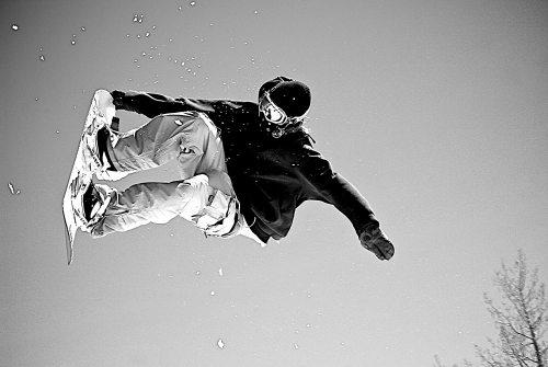 yanfind A1 | Snowboarder Poster Art Print 60 x 90cm 180gsm Snowboard Ski Fun