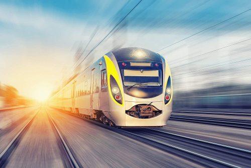 yanfind A1 | Modern Train Poster Art Print 60 x 90cm 180gsm Commuter Trains