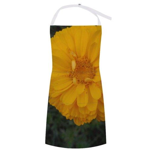 yanfind Custom aprons Flower Garden India Hindu Vegan Spiritual Daisy Rose Wildflower Love Valentine white-style1 70×80cm