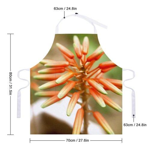 yanfind Custom aprons Flower Macro Beautiful Beauty Blooming Botany Closeup Decoration Delicate Elegance Flora white-style1 70×80cm