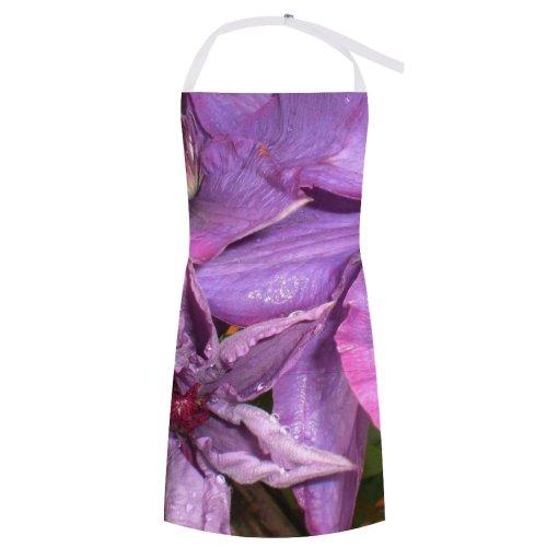 yanfind Custom aprons Flower Flowers Sunny Purple Bloom Dying Summer white white-style1 70×80cm