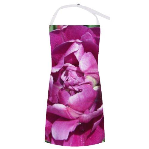 yanfind Custom aprons Flower Flowers Tulip Petals Stem Grow Flora Natural Season Seasonal Summer Spring white-style1 70×80cm