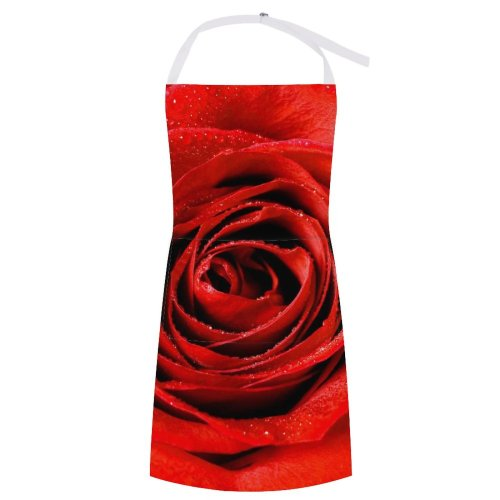 yanfind Custom aprons Flower Garden Happy Isolated Leafs Love Luxury Marriage Perfume white-style1 70×80cm