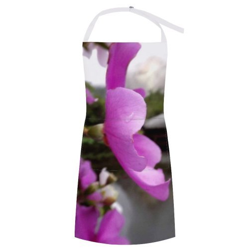 yanfind Custom aprons Flower Lake Forest Clouds white white-style1 70×80cm