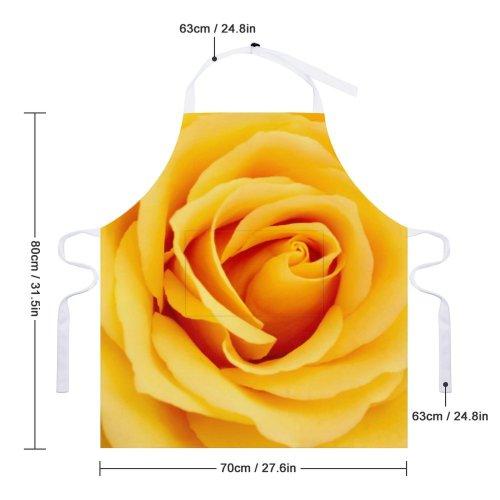 yanfind Custom aprons Flower Rose Petals Romance Love Garden Flowers Bspo07 white white-style1 70×80cm