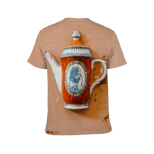 yanfind Adult Full Print T-shirts (men And Women) Abstract Aged Art Cement Ceramic Classic Clay Concrete Crack Creative Crockery Decor