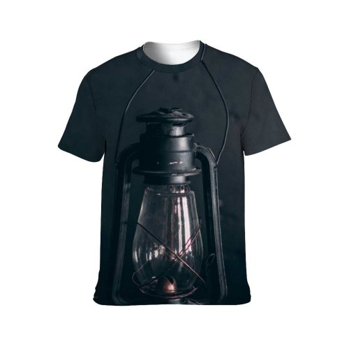 yanfind Adult Full Print T-shirts (men And Women) Abandoned Aged Art Bw Space Damage Dark Decor Design Desk Empty Grunge