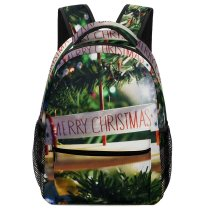 yanfind Children's Backpack Abies Pine Images Christmas Conifer Free Plant Pictures Fir Tree Ornament Preschool Nursery Travel Bag