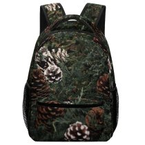yanfind Children's Backpack Abies Pine Images Conifer Free Plant Pictures Fir Larch Tree Wallpapers Grey Preschool Nursery Travel Bag