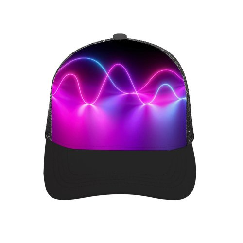 yanfind Adult Bend Rubber Baseball Hollow Out Abstract Neon Light Mediapad Beach,Tourism,Mountaineering,Sports, Parties,Cycling