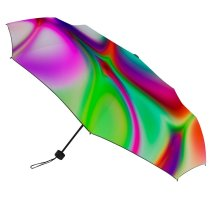 yanfind Umbrella Manual Gasoline Glowing Social Oyster Futuristic Smooth Issues Hologram Neon Vitality Generated Windproof waterproof anti-ultraviolet protection golf umbrella
