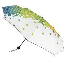yanfind Umbrella Manual Generated Digitally Abstract Development Technology Pixelated Ideas Windproof waterproof anti-ultraviolet protection golf umbrella