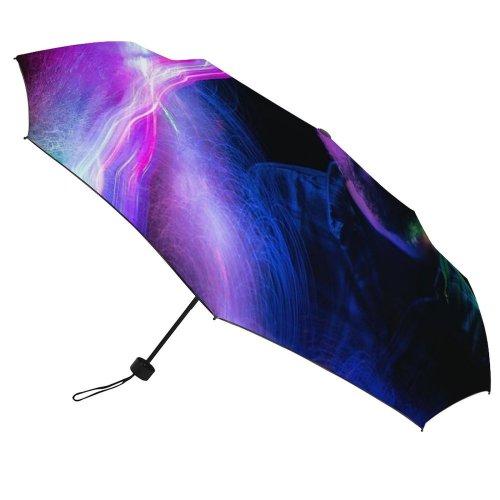 yanfind Umbrella Manual Natural Camera Illuminated Futuristic Art Outdoors Innovation Exposure Light Nightlife Motion Hairline Windproof waterproof anti-ultraviolet protection golf umbrella