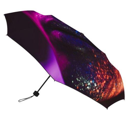 yanfind Umbrella Manual Natural Face Light Lifestyles Headshot Focus Mid Lips Beard Skin Night Foreground Windproof waterproof anti-ultraviolet protection golf umbrella
