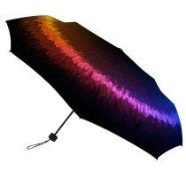 yanfind Umbrella Manual Generated Dimensional Vibrant Art Digitally Windproof waterproof anti-ultraviolet protection golf umbrella