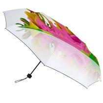 yanfind Umbrella Manual Sound Growth Studio Springtime Shot Vibrant Wave Motion Abstract USA Flower Creativity Windproof waterproof anti-ultraviolet protection golf umbrella