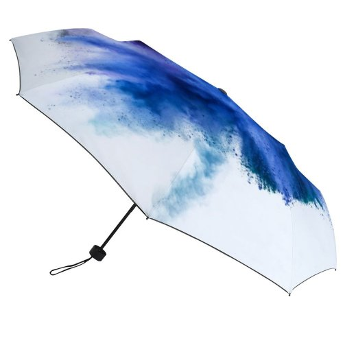 yanfind Umbrella Manual Natural Powder Social Splattered Togetherness England UK Issues London Art Abstract 002 Windproof waterproof anti-ultraviolet protection golf umbrella