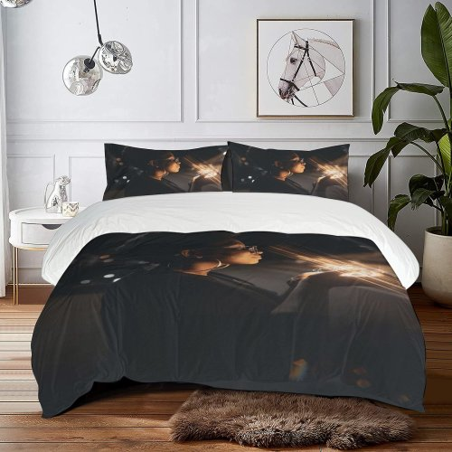 yanfind Bedding Set of 3 (1 Cover, 2 Bed Pillowcase Without Sheet)Bokeh Images Night Wallpapers Empowered Stock Free Accessory Maringá Accessories Duvet Cover personalization