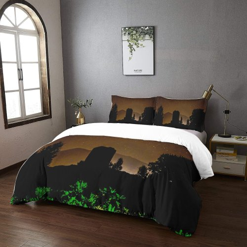 yanfind Bedding Set of 3 (1 Cover, 2 Bed Pillowcase Without Sheet)Caernarfon United Snowdon Duvet Cover personalization
