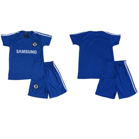 Lenrick Kids Chelsea Soccer Jersey Uniform Kits Football Tracksuit