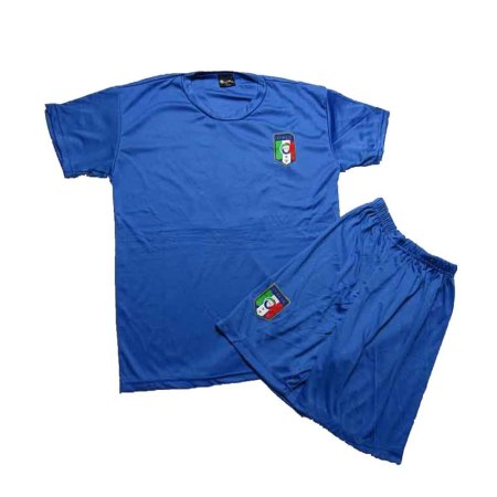 Lenrick Kids ITALY Home Soccer Jersey Uniform Kits  Wholesale