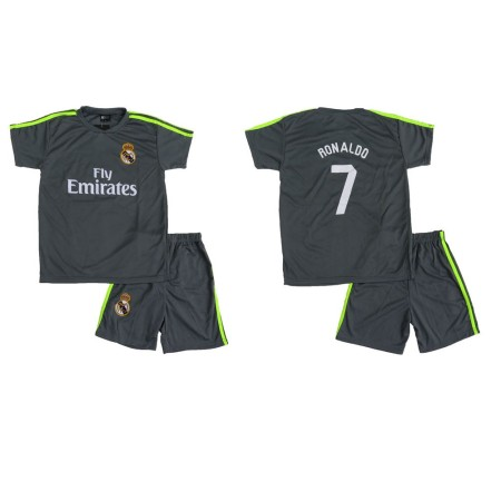Lenrick Kids Real Madrid  Away  Soccer Jersey Grey wholesale