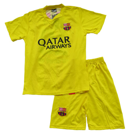 Lenrick Kids FCB  Barcelona Away Soccer Jersey fans version Uniform Kits Wholesale