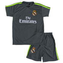 Lenrick Adult Real Madrid  Home  Jersey Grey Wholesale