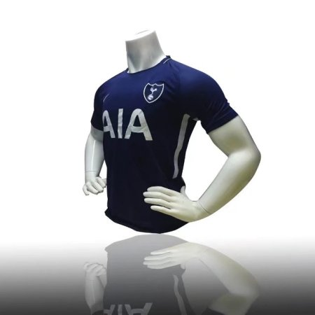 Replica Adult TOTTENHAM HOTSPUR AWAY JERSEY 17/18 - BINARY BLUE/WHITE Men Soccer Jersey Adult Football Shirt Top
