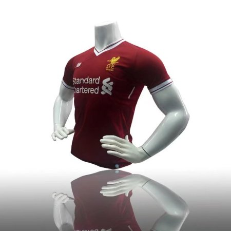 2017/18 Adult Liverpool Home Red/white Jersey Replica Thailand Kits Soccer Uniform Football Shirt