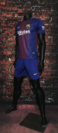 17/18 A Quality Adult Barcelona Home Soccer Jersey Uniform Man  Football Kits Sport Jersey