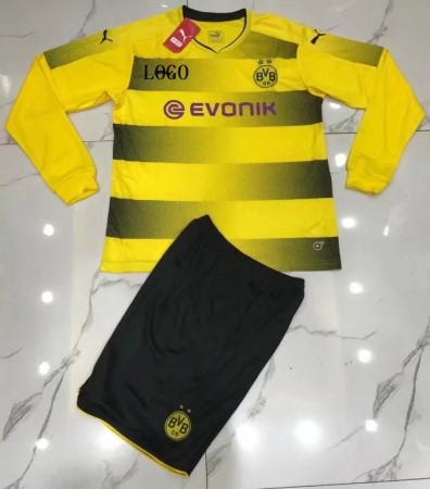 Dortmund Long Sleeve Jersey Uniforms