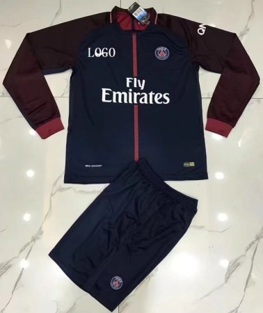 PSG Long Sleeve Jersey Uniforms