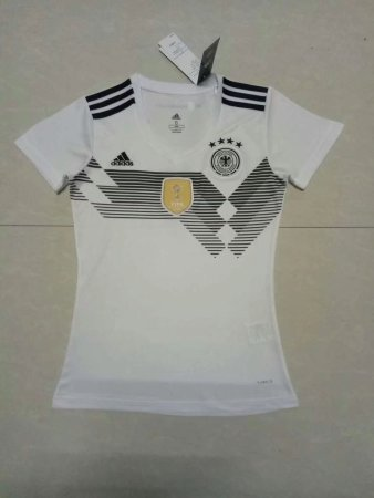 2018 Woman Germany Soccer Jersey Adult Football Shirt Custom Name Number